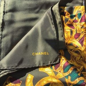 CHANEL authentic scarf